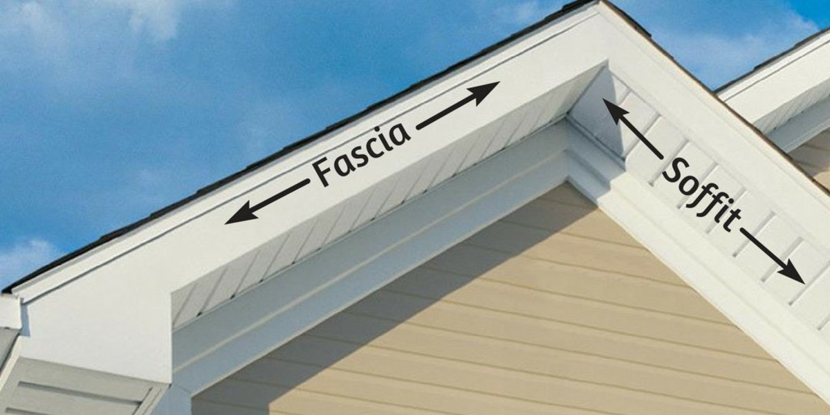 Painting Soffits And Fascia Boards