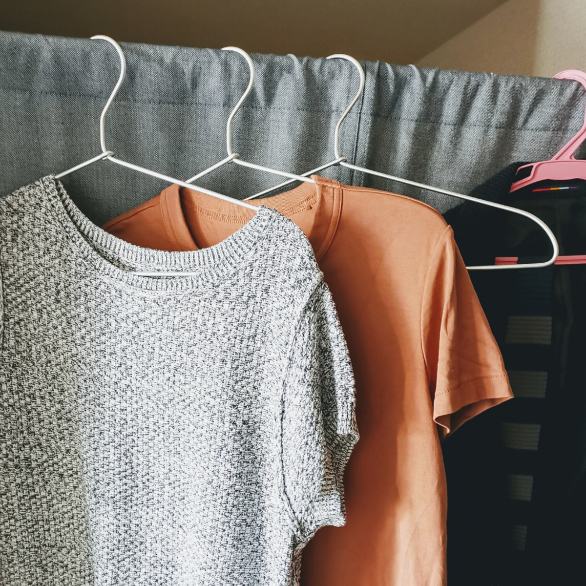 Be sure to hang-dry your garments after removing a stain!