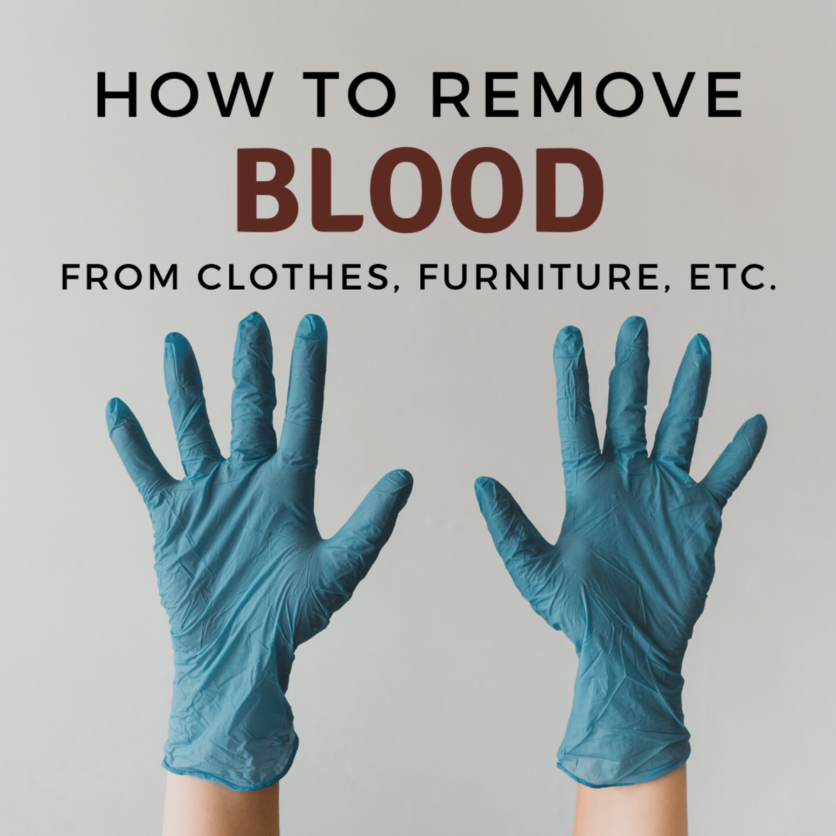 How to Remove Blood Stains From Fabric and Clothes
