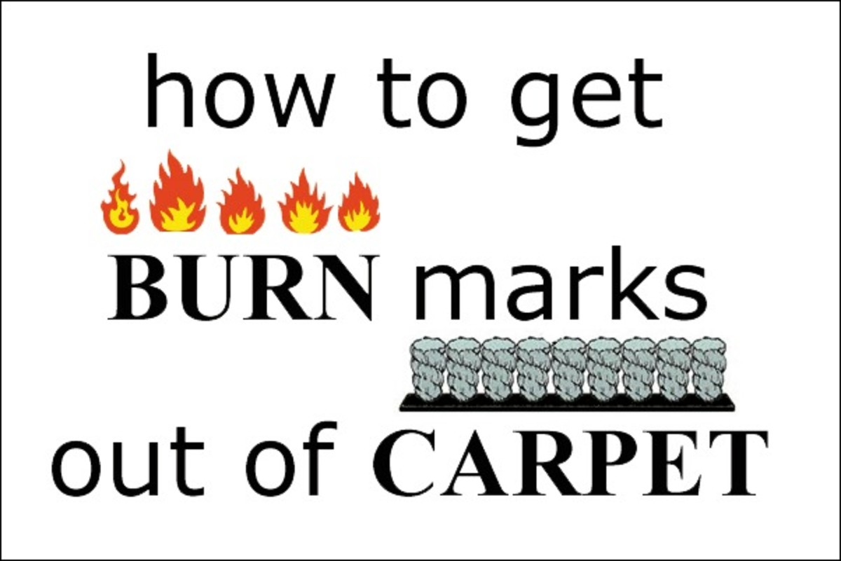 How to Get Burn Marks Out of Carpet