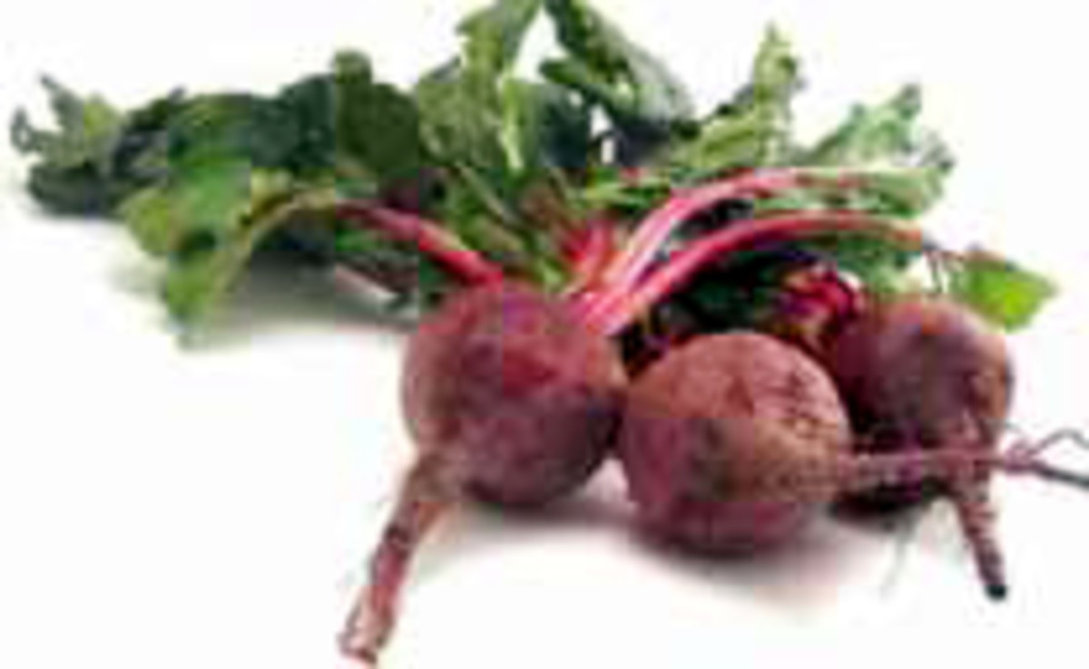 Beet leaves are edible and can add a lot to salads.