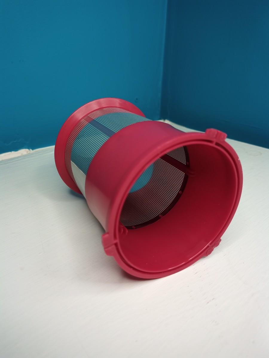 Metal/plastic filter