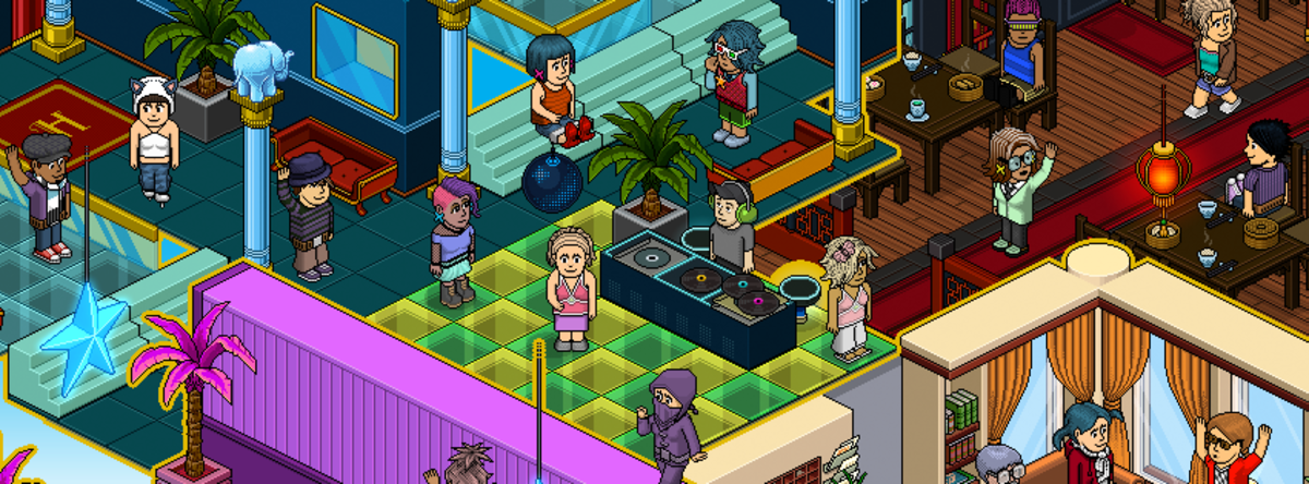 "30 ""Telephrase"" Theme Ideas on ""Habbo Hotel"""