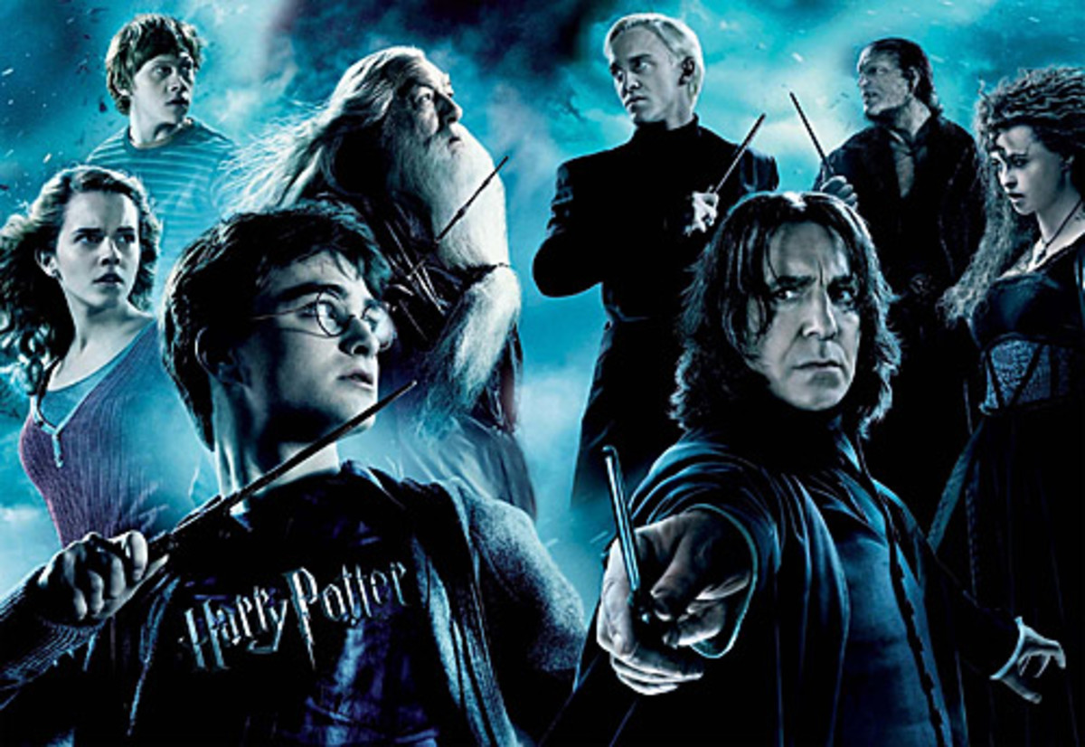 The Worst Book to Film Harry Potter Characters