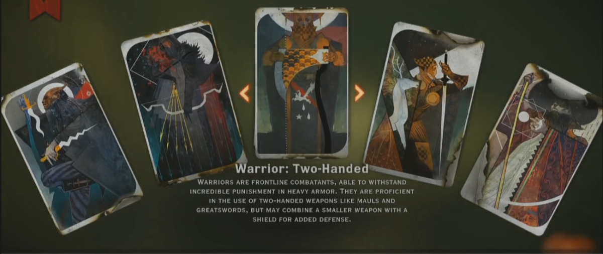 """All the Fighting Classes in """"Dragon Age: Inquisition"""" at a"""