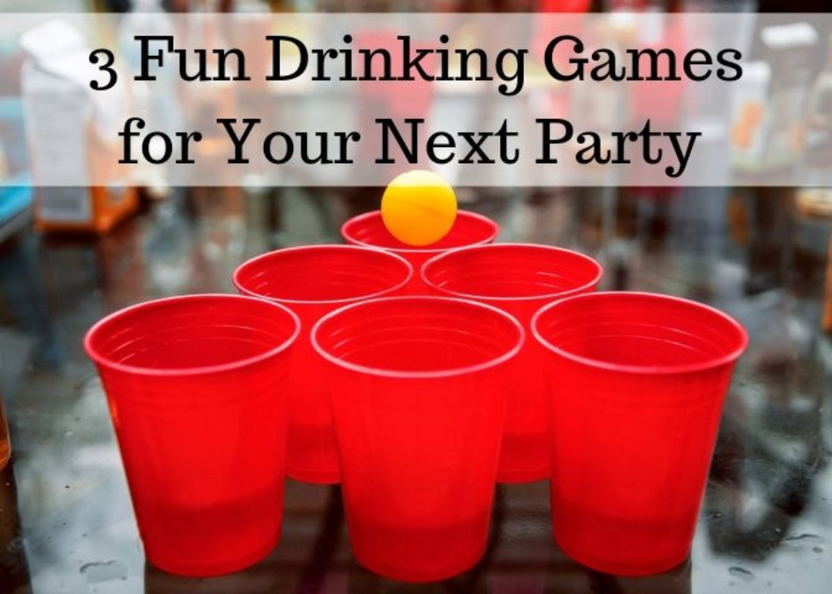 These drinking games will definitely make your next party a big hit! Please drink responsibly.