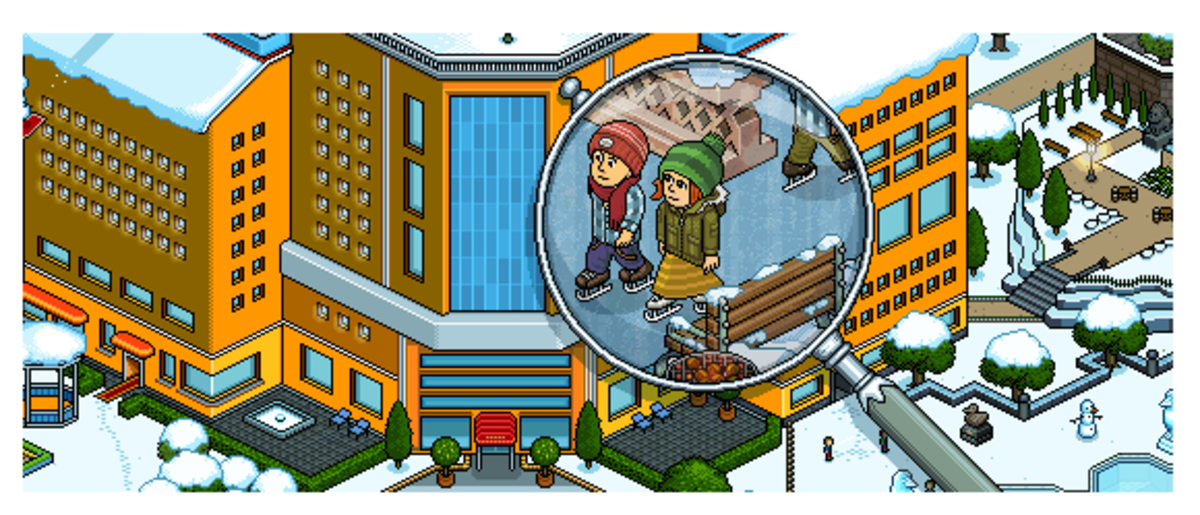 "How to Set Up Your Own ""Telephrase"" Game on ""Habbo Hotel"""