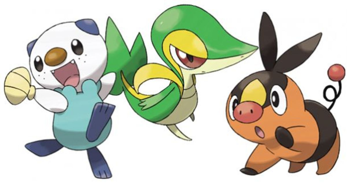 Top 10 Best-Looking Shiny Pokémon (Generation 5)