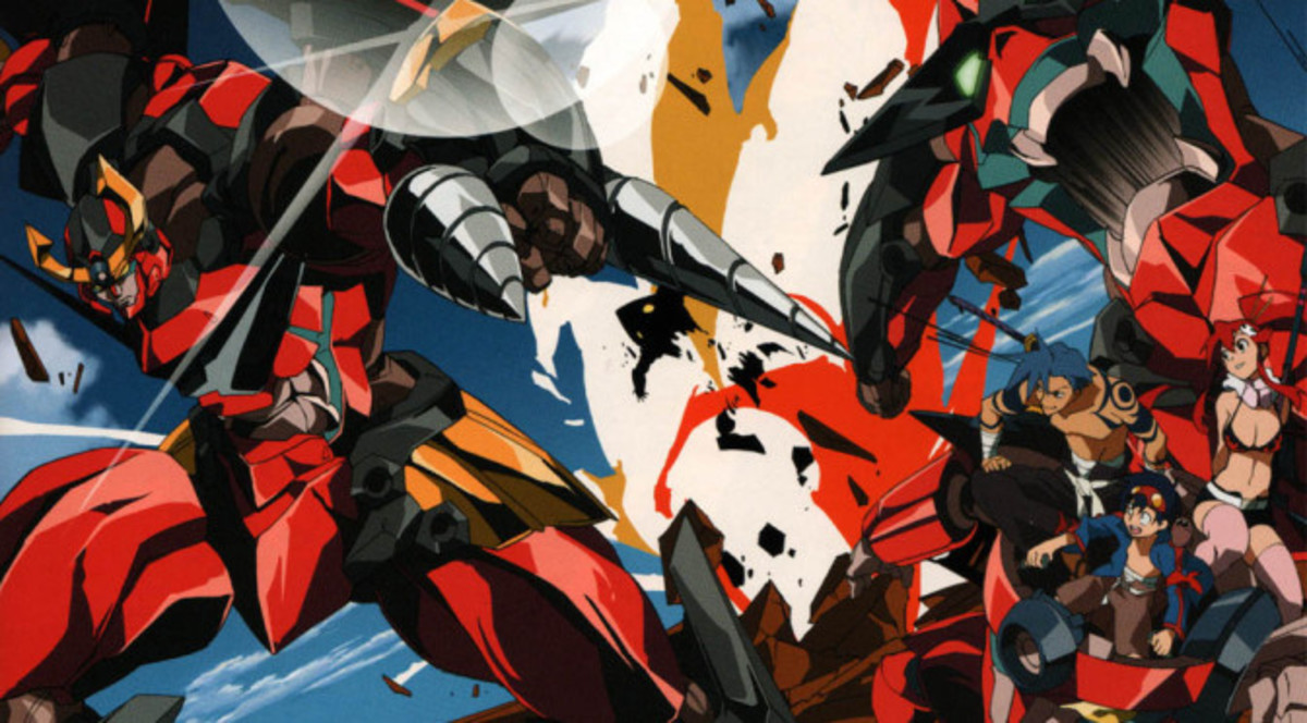 "7 Anime Like ""Gurren Lagann"""