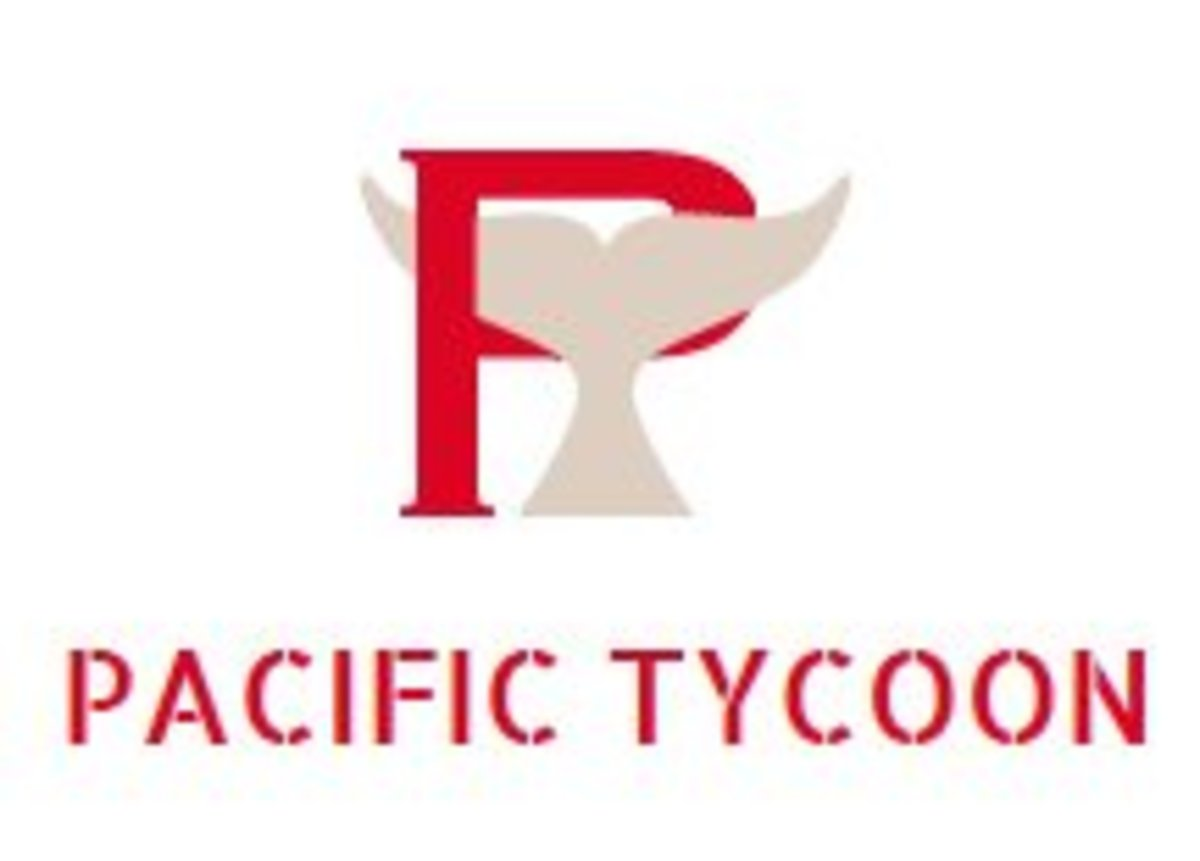 Pacific Tycoon's new logo.