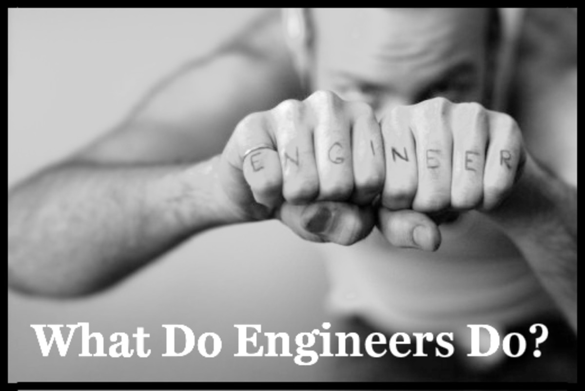 Let's hear it for engineering awesomeness.  As logical, practical, scientific problem solvers, they enjoy one of the world's most important professions.  Do you have what it takes?