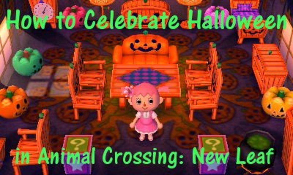 How To Celebrate Halloween In Animal Crossing New Leaf Levelskip