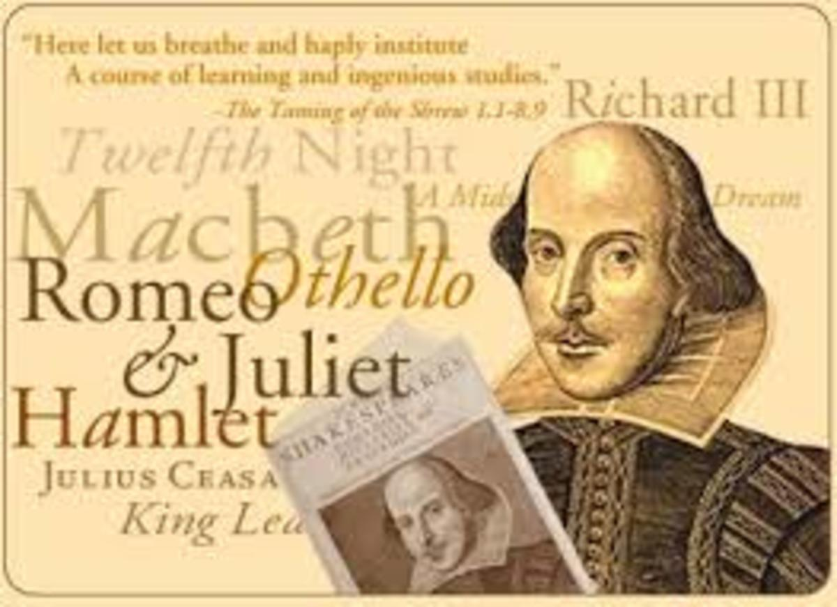 The bard himself: William Shakespeare.