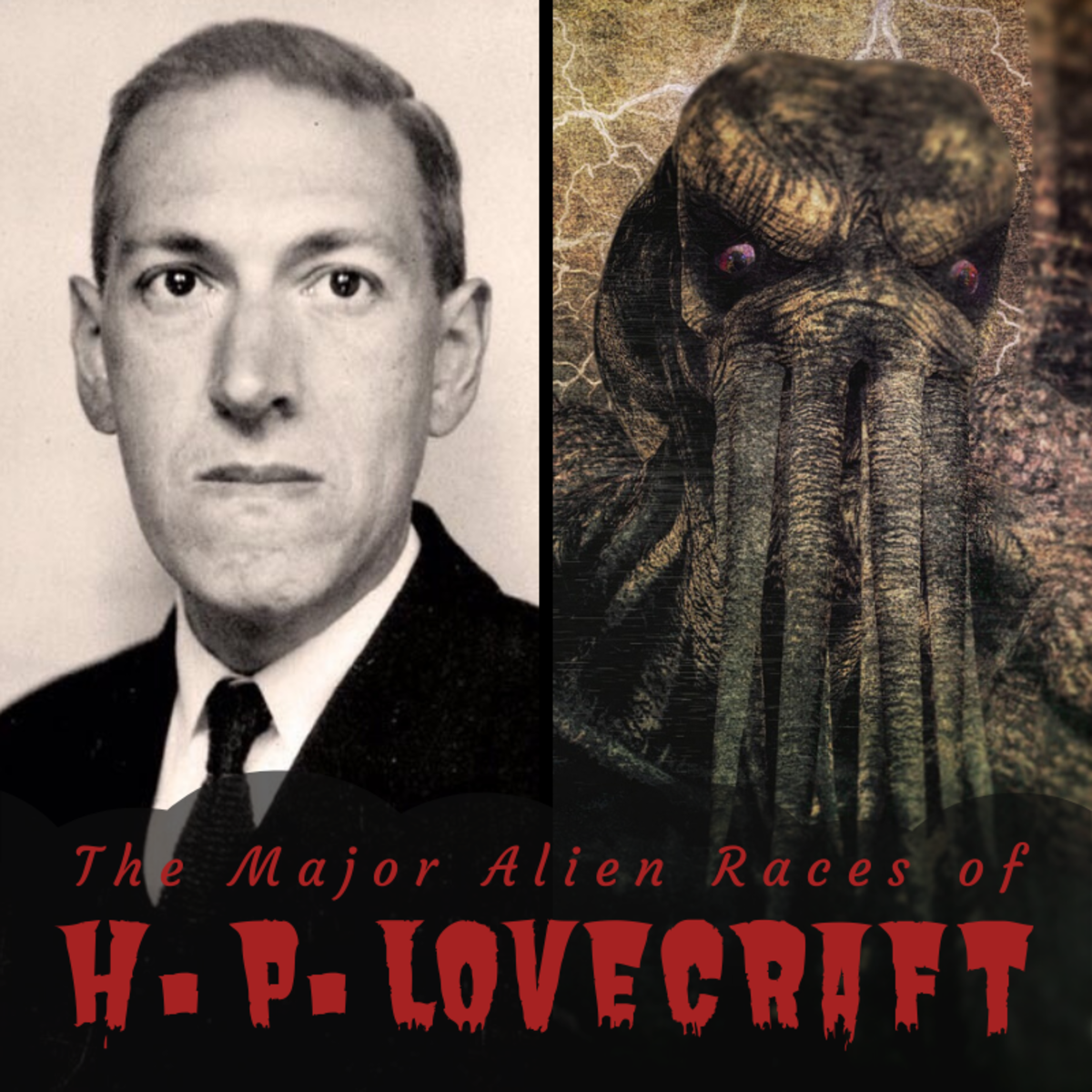 H.P. Lovecraft is known the world over for giving birth to some of the most surreally horrifying creatures in fiction. Learn about some of them here.
