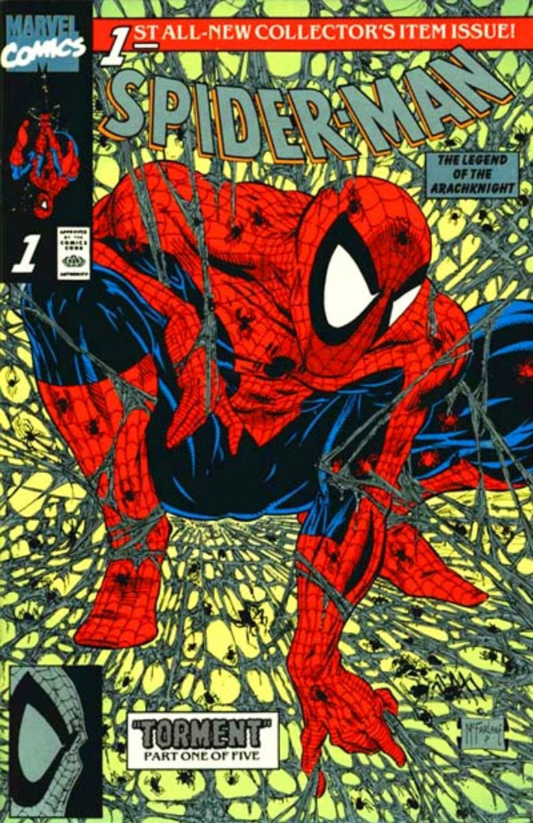 A Spider-Man cover.