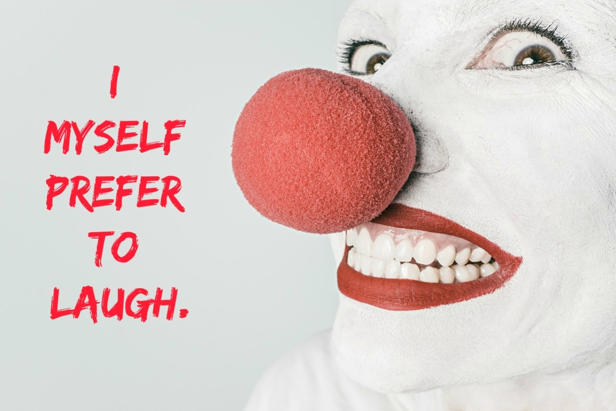 Clown around! All the world loves a clown.
