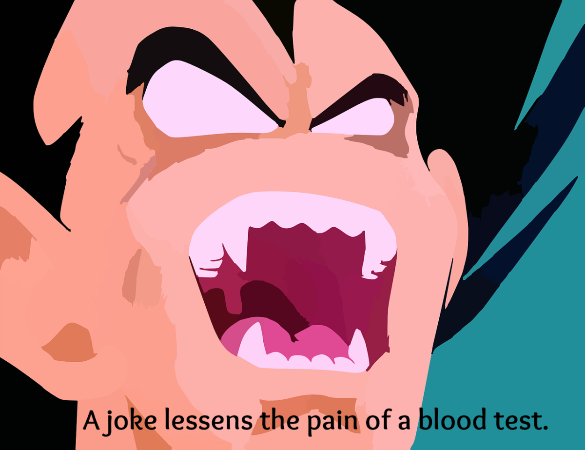 A joke about Dracula can make a blood draw easier.