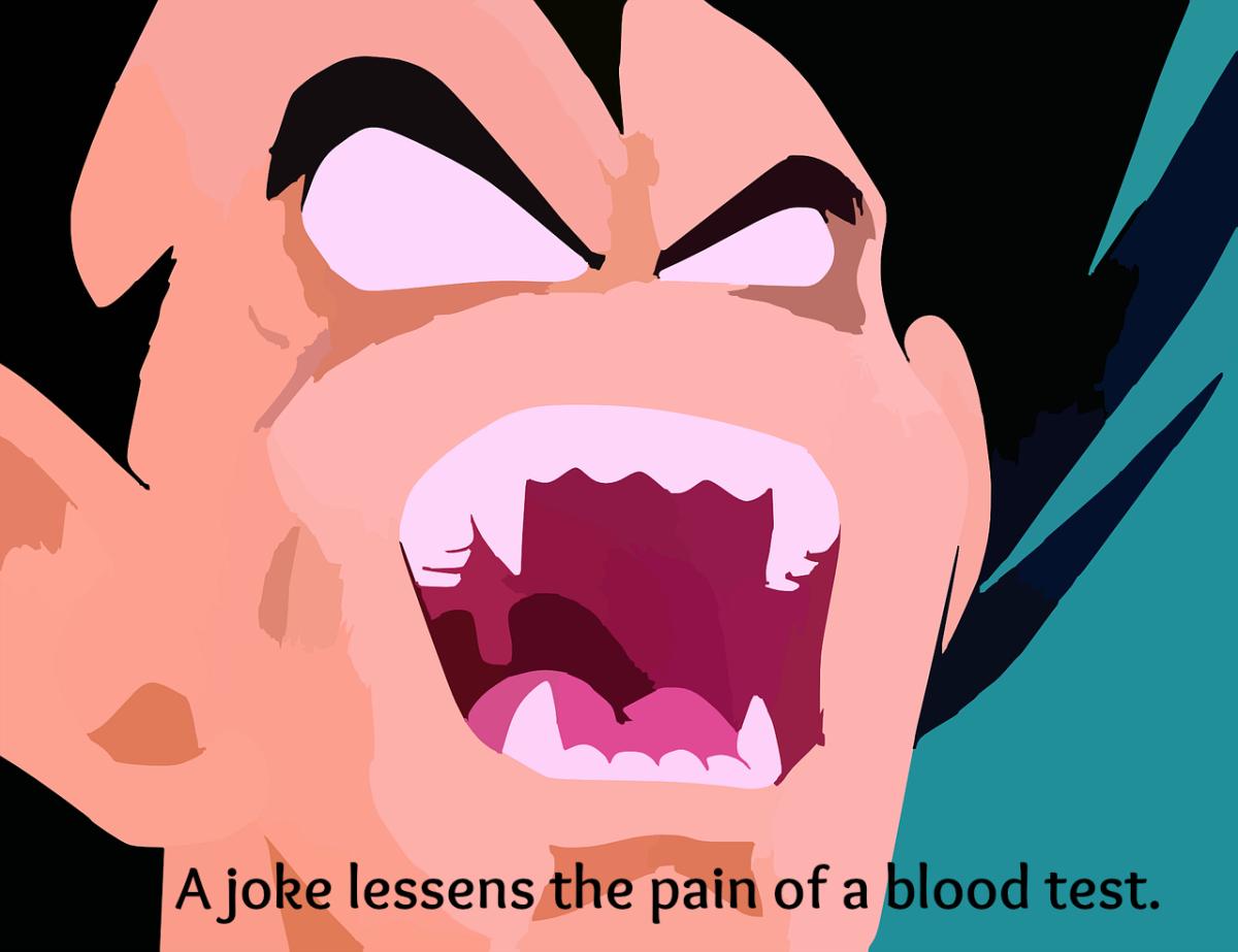 Even Dracula enjoys a good laugh.