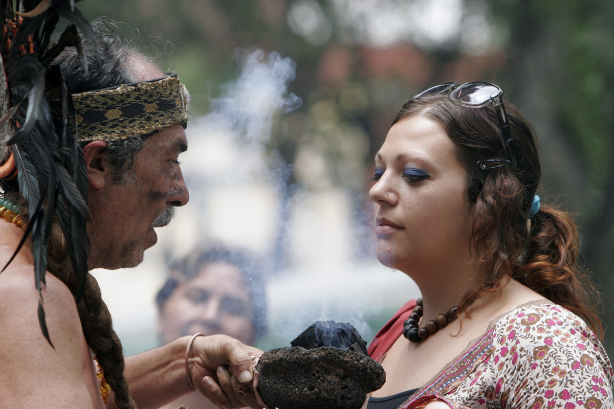 Smudge Cleansing Ritual by Shaman