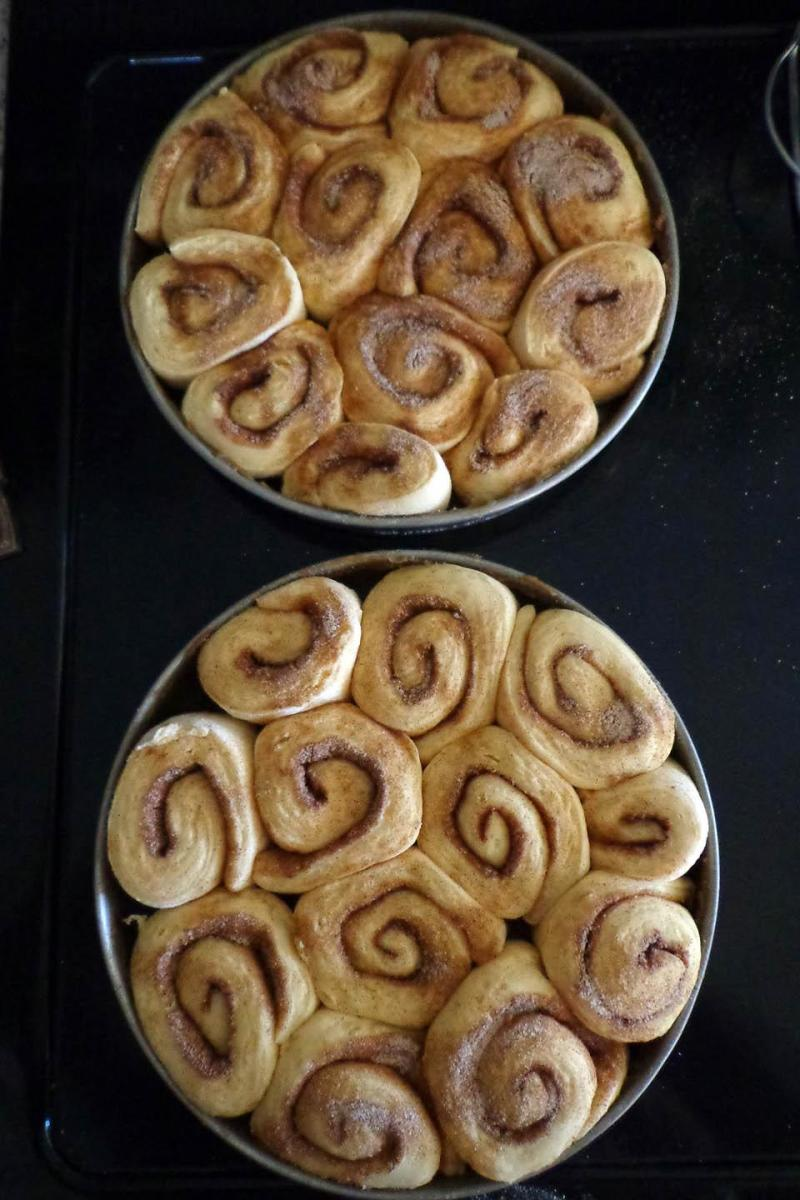 You just can't beat homemade cinnamon rolls!