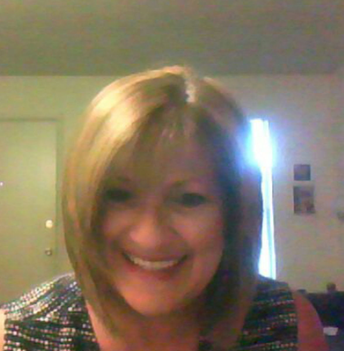 It was a good hair day! Something that always makes me happy!