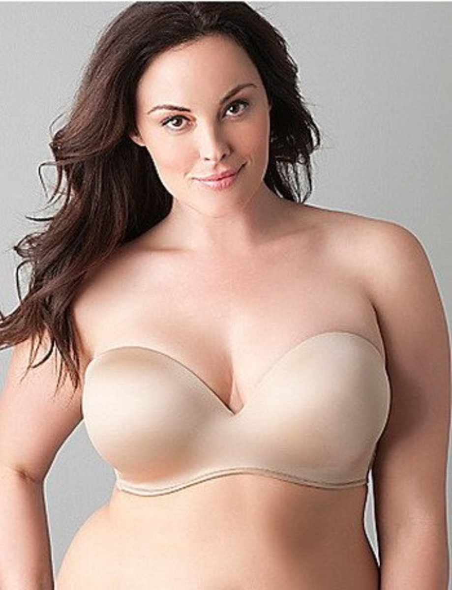 The Best Strapless Bras for C, D, or DD Cup Large Breasts