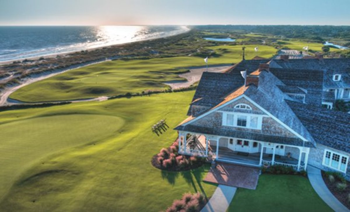 The Ocean Course at Kiawah Island designed by Pete Dye