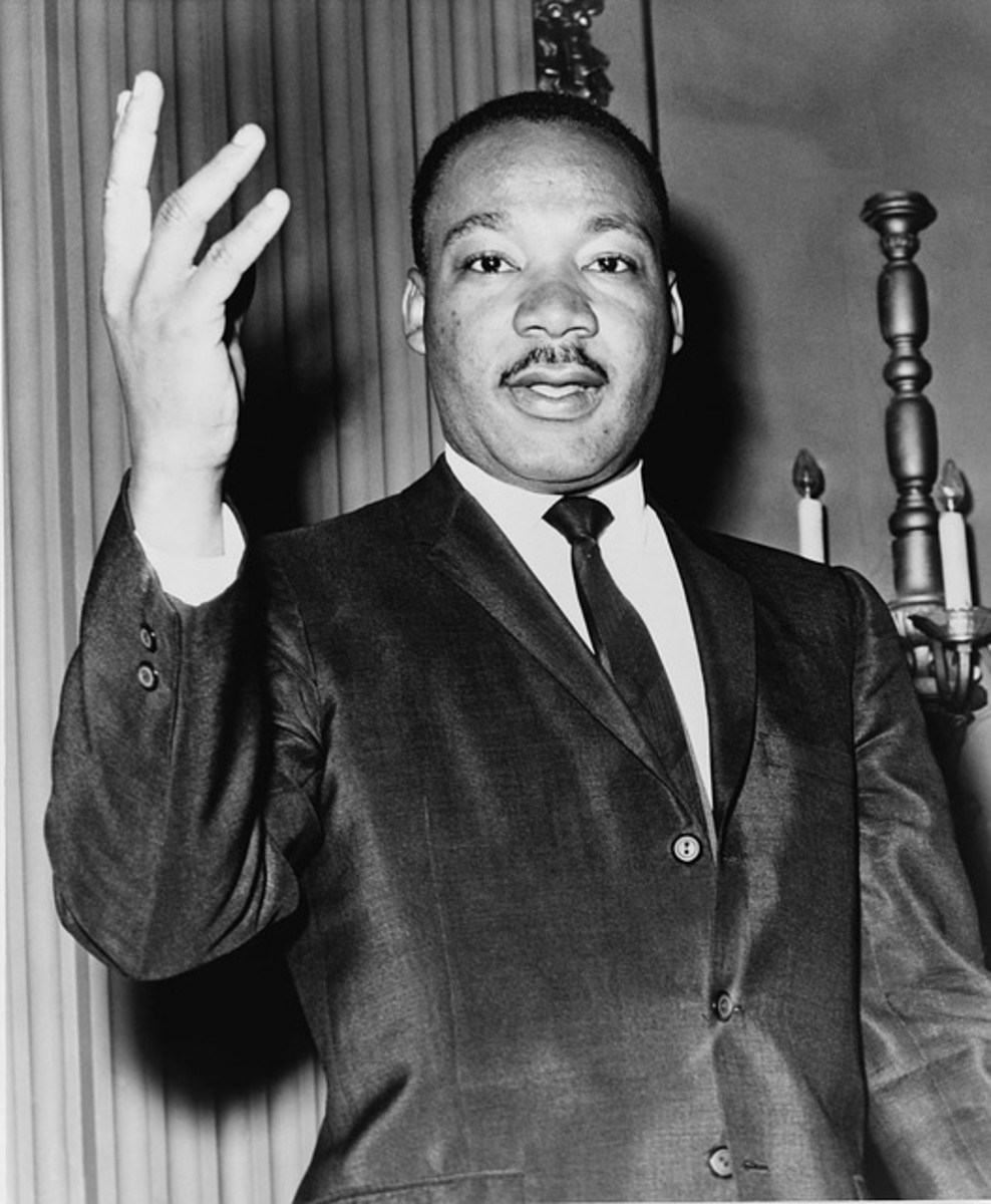 "An advocate of non-violent direct action, Martin Luther King Jr was one of the greatest civil rights campaigners ever.  He was also an exceptional orator and made many memorable speeches, including his ""I have a dream"" speech."