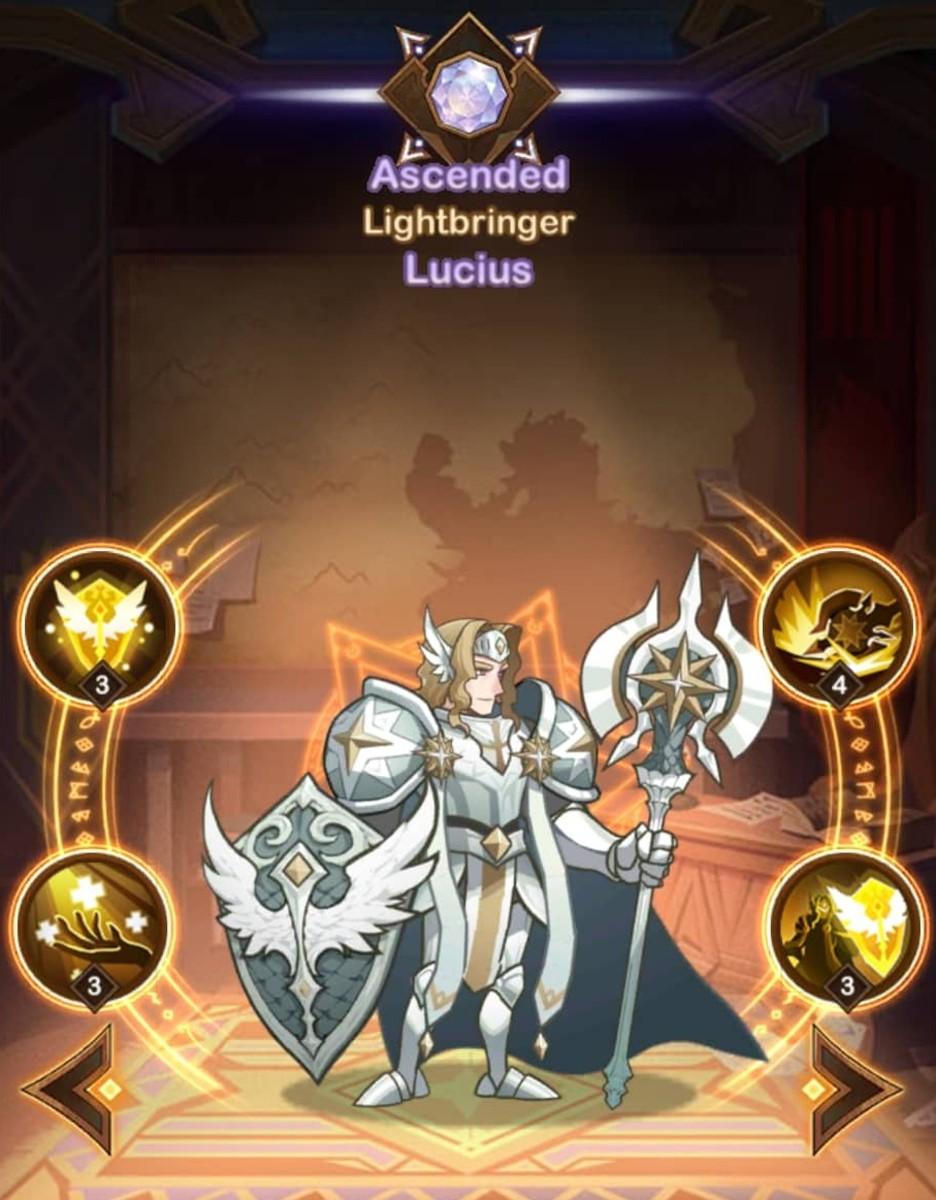 Lucius, the Lightbearer Tank