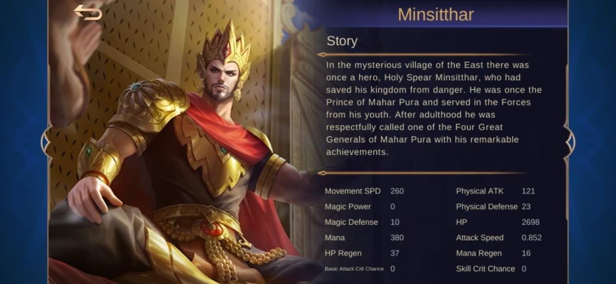 "Ultimate Minsitthar Build Guide in ""Mobile Legends"""