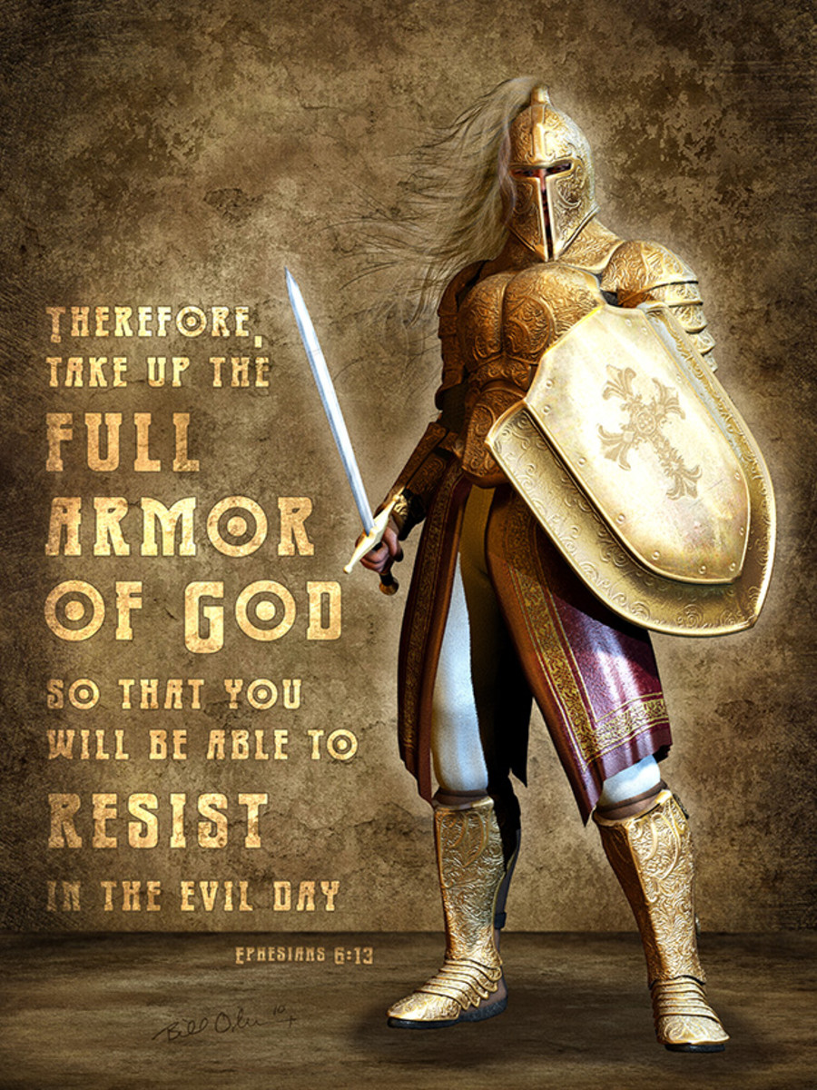 Wear your physical and spiritual armor