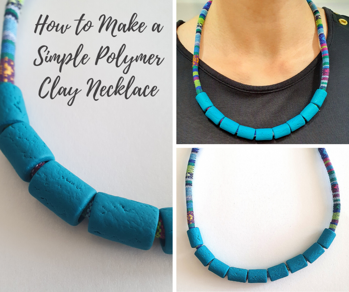 How to Make a Simple Polymer Clay Necklace