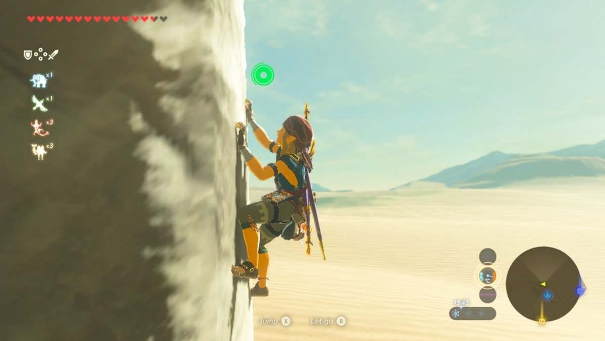 "How to Get the Full Climbing Set in ""The Legend of Zelda: Breath of the Wild"""