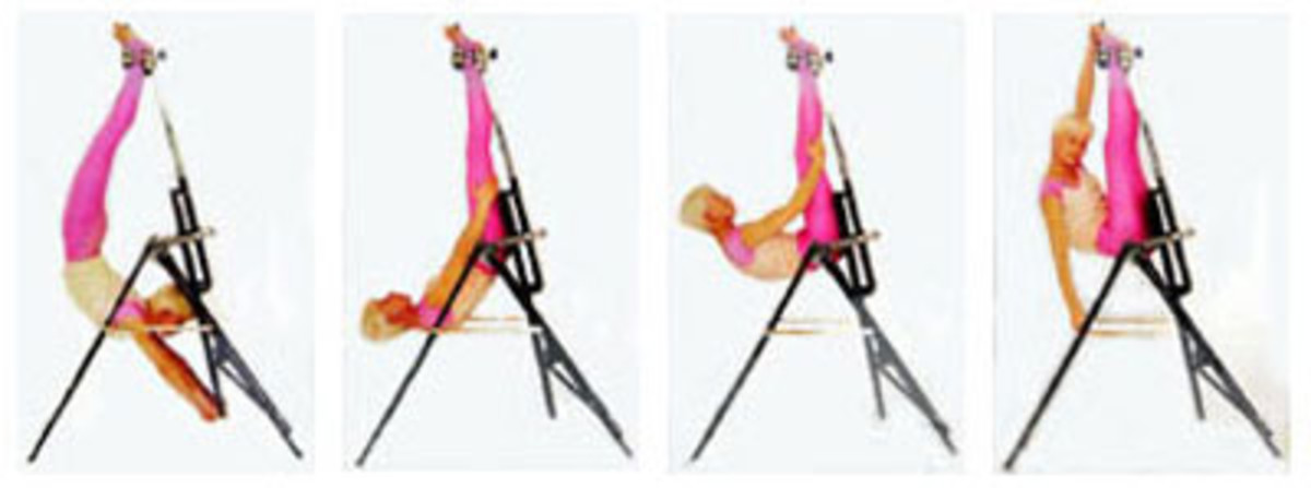 Sorry it's out of focus. Get a sixpack in no time by doing upside down sit-ups.
