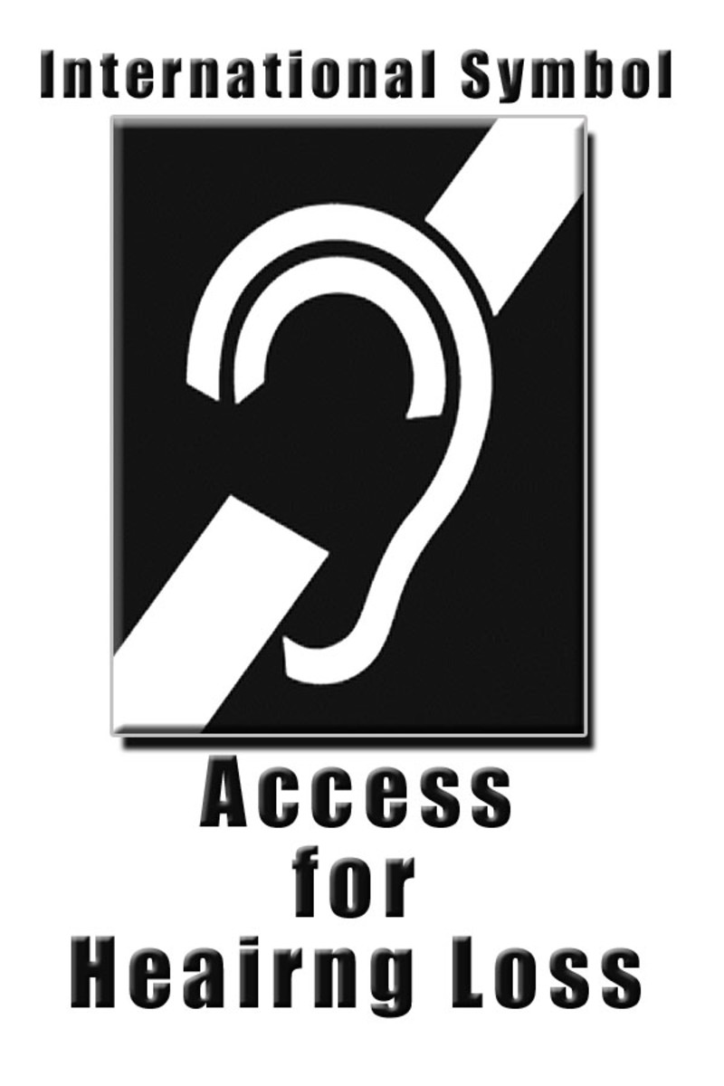International symbol of Access for Hearing Loss