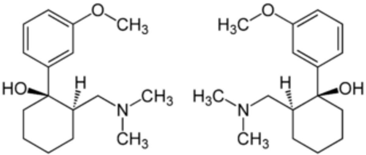 Tramadol's complex chemical structure
