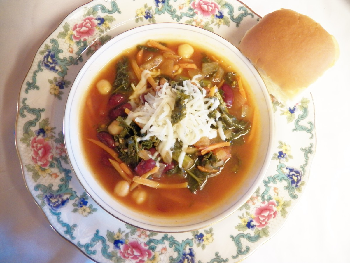 Quick and Easy Kale Soup Recipe