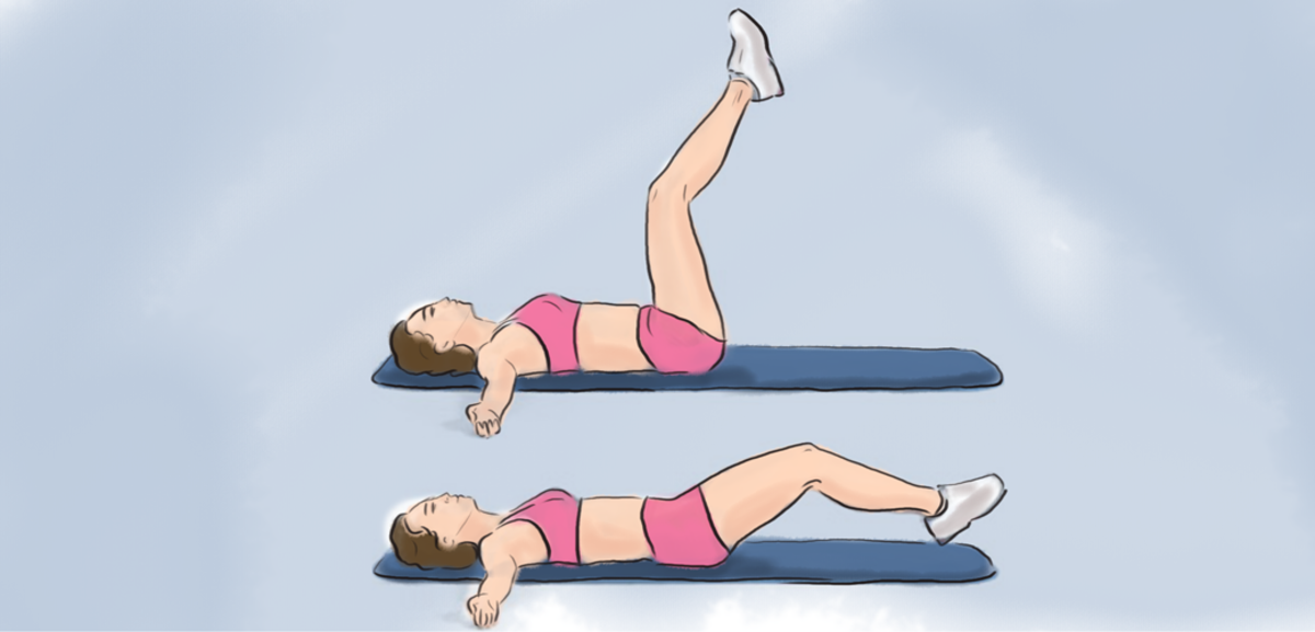 Exercising helps form healthy bones. For postural kyphosis, core exercises such as leg lifts can help posture.