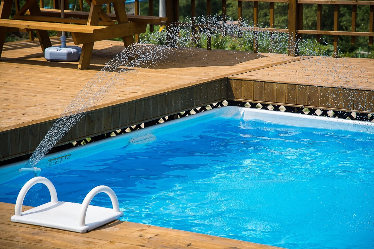 Even a residential pool requires some form of disinfection.