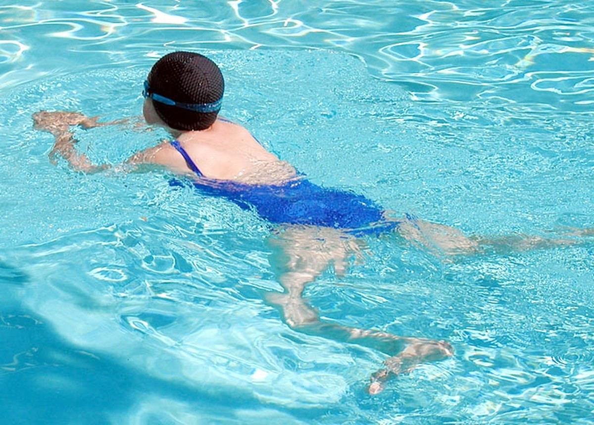Swimming is good exercise, especially when the pool environment is healthy.