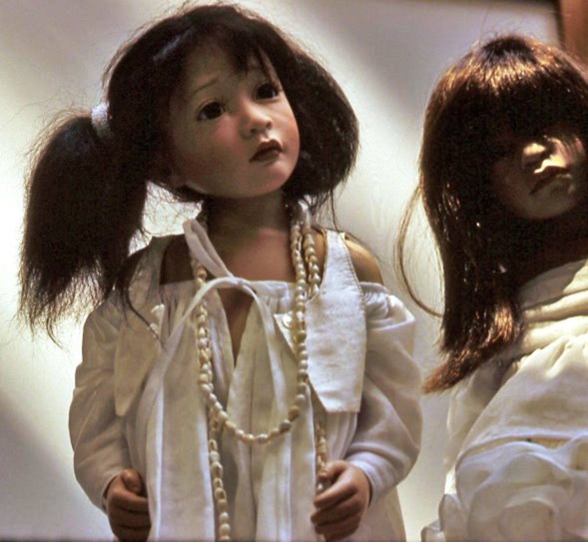 These two dolls find it hard to imagine that anyone might be afraid of them.