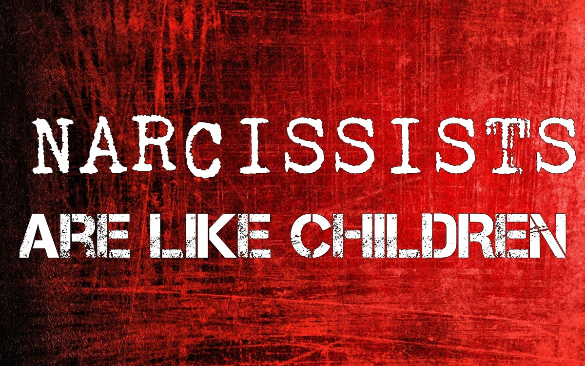 Narcissists Are Like Children in These Ways