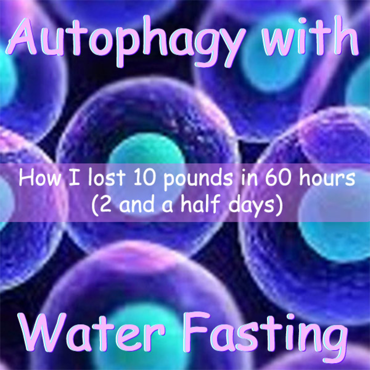How I Lost 10 Pounds in 60 Hours With Autophagy and Water Fasting