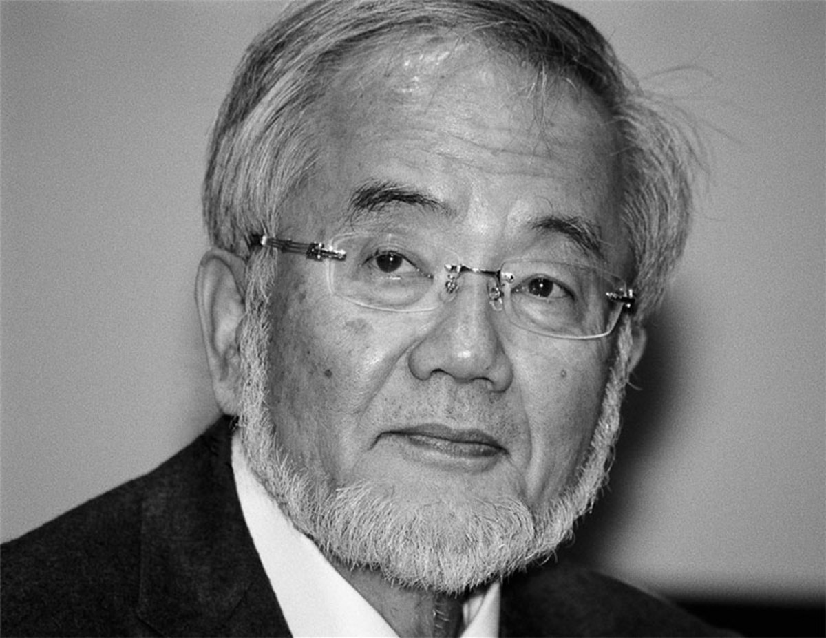 Yoshinori Ohsumi Nobel Prize winner in Physiology and Medicine