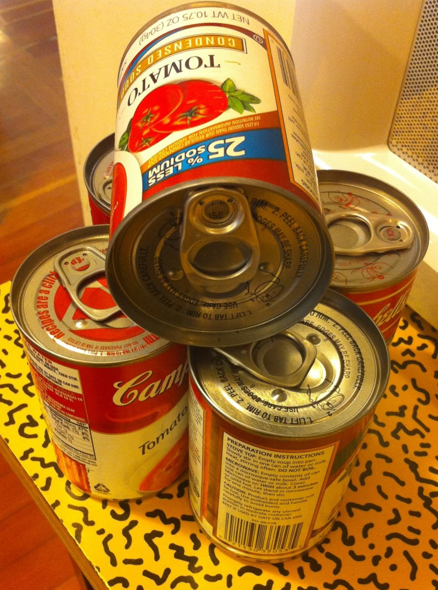 BPA can be found in the epoxy resin lining of canned food