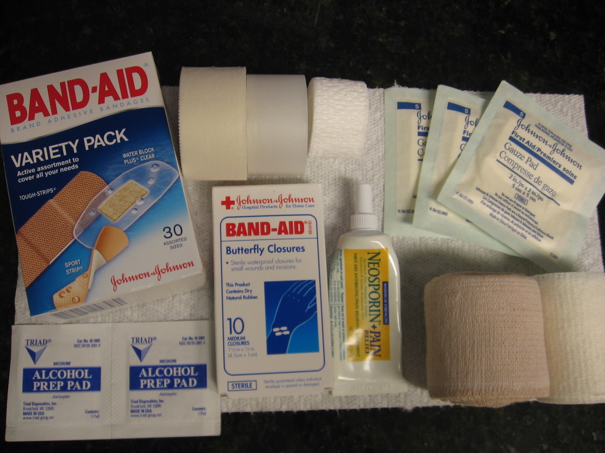 The Benefits of Keeping a First-Aid Box