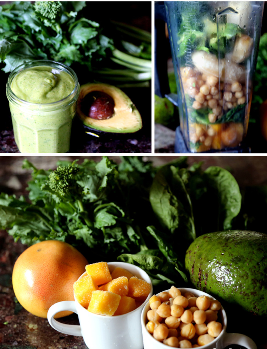 Meal Replacement Green Protein Smoothie