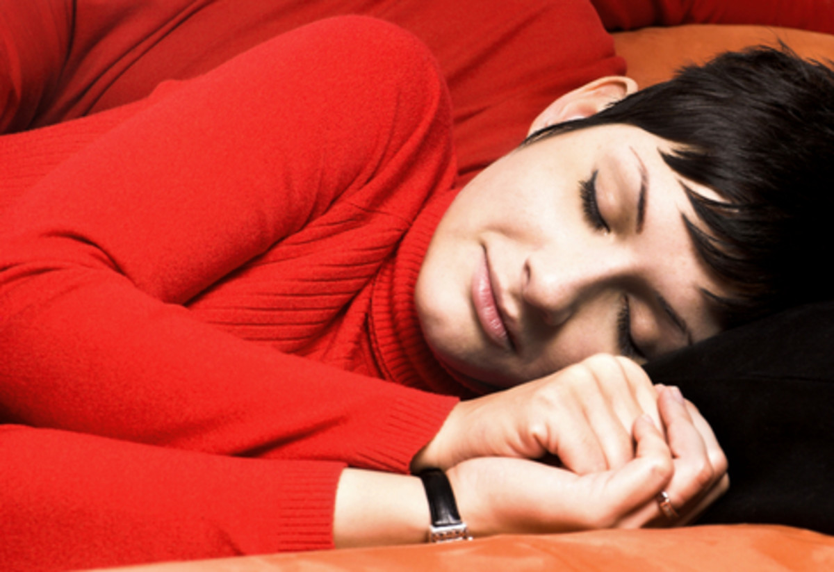 Getting enough rest can help ease the symptoms of Lupus.