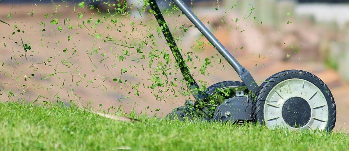 Don't mow the lawn after cataract surgery