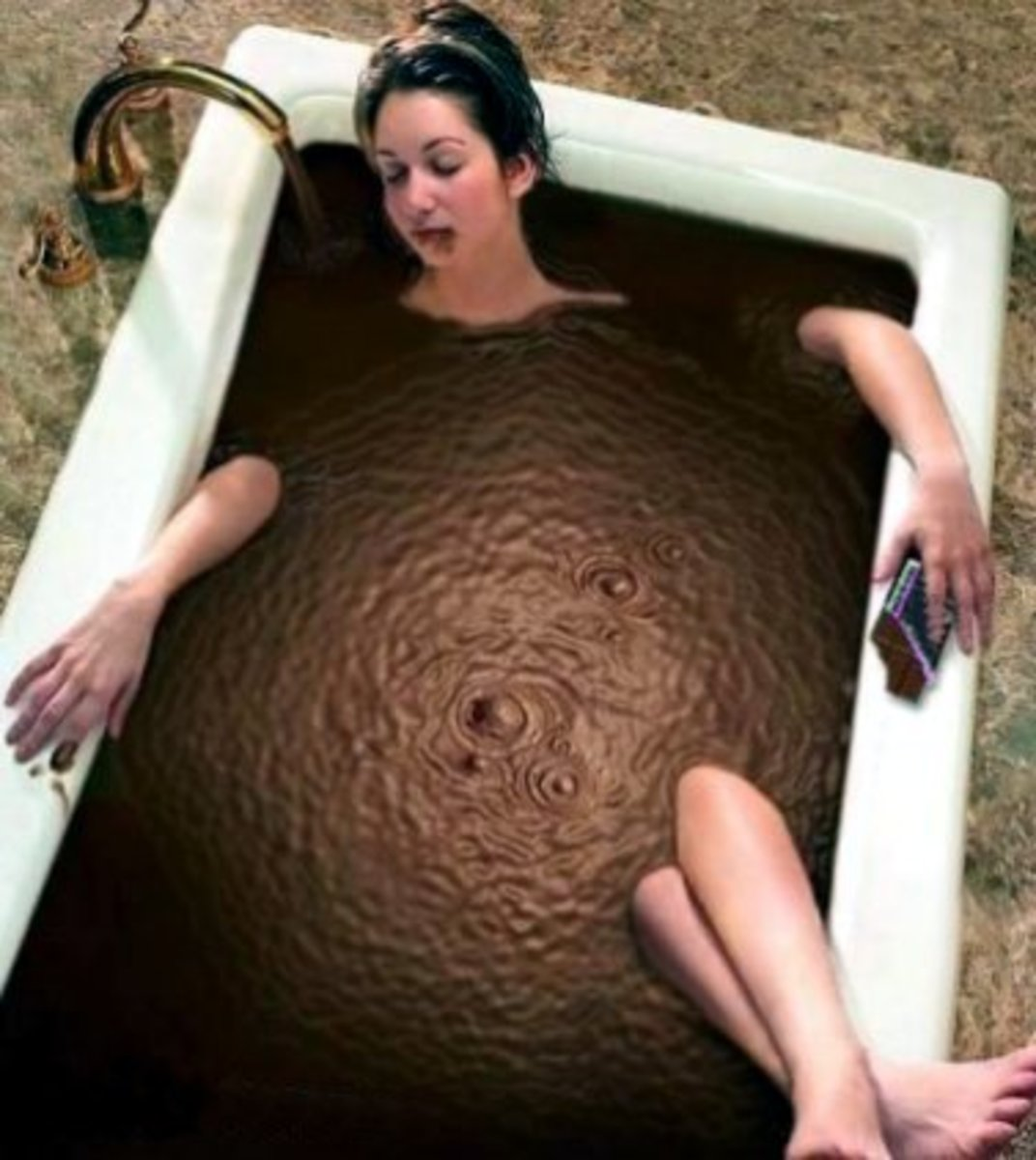Make that bath with extra cocoa, please!